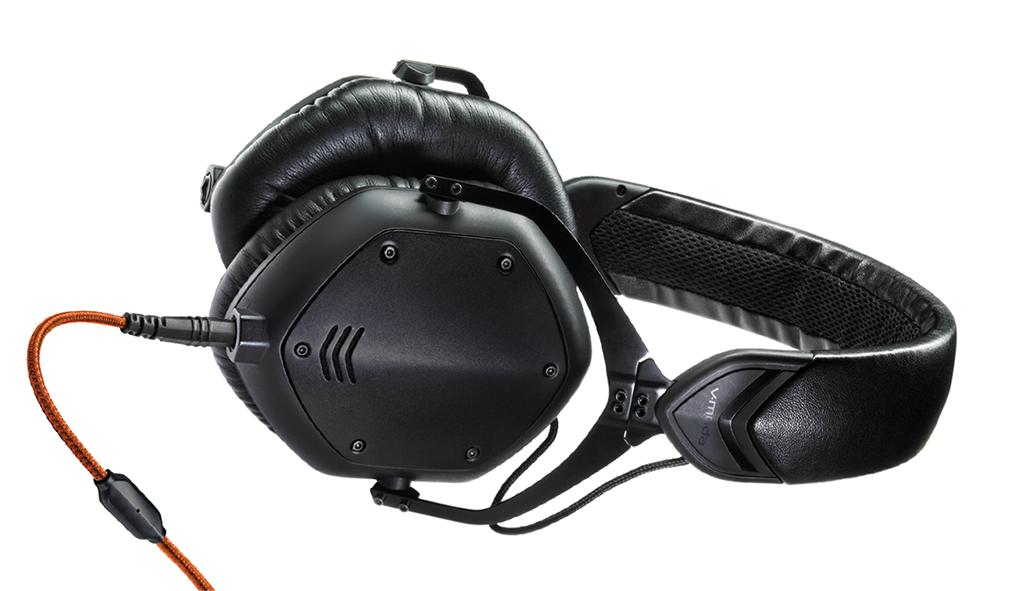 v moda crossfade m 100 headphones matte black metal long mcquade musical instruments. Black Bedroom Furniture Sets. Home Design Ideas