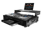 Odyssey - Black Label Flight Zone Case for Denon MCX8000 w/19 2U Rack Space