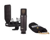 Rode - NT-1 Cardioid Condensor Microphone with Accessories