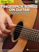 Hal Leonard - How to Fingerpick Songs on Guitar: Essential Patterns, Techniques & Arranging Concepts - Johnson - Book/Video Online