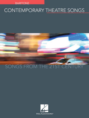 Contemporary Theatre Songs: Songs from the 21st Century - Baritone - Book