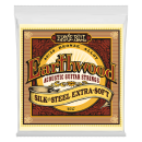 Ernie Ball - Earthwood Silk & Steel Extra Soft 80/20 Bronze Acoustic Strings 10-50