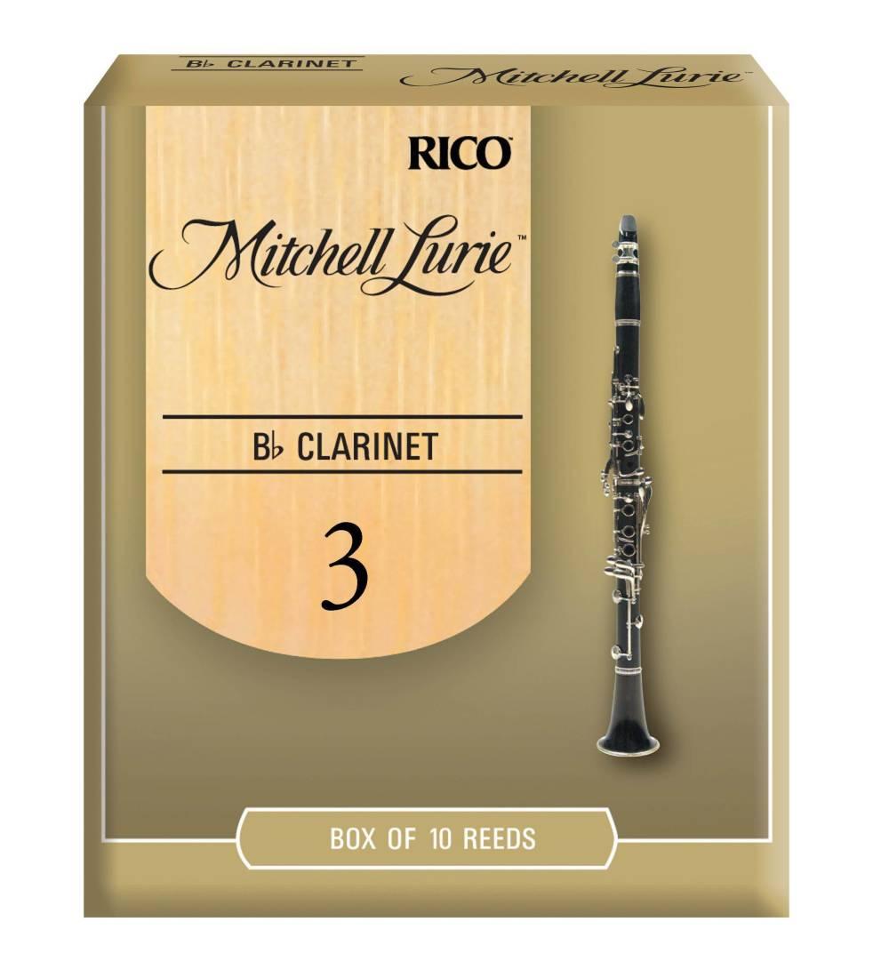 Rico Bb Clarinet Reeds 10-pack Strength 3.0