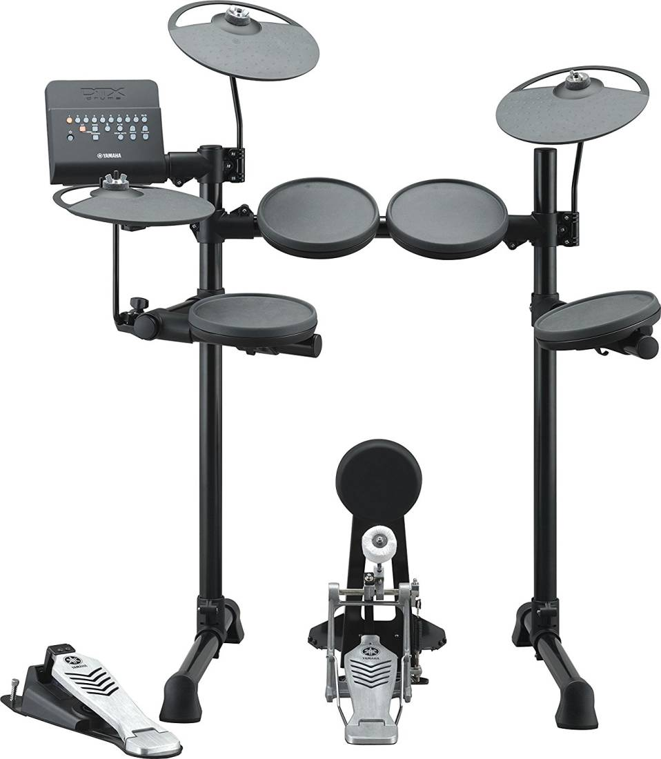Yamaha dtx430k electronic drum kit long mcquade for Yamaha electronic drum kit for sale