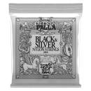 Ernie Ball - Ernesto Palla Black & Silver Nylon Classical Guitar Strings