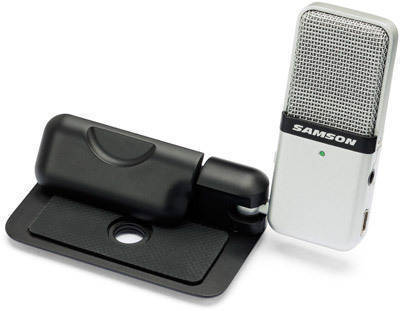 Samson - Go Mic - Portable USB Condenser Mic - Black