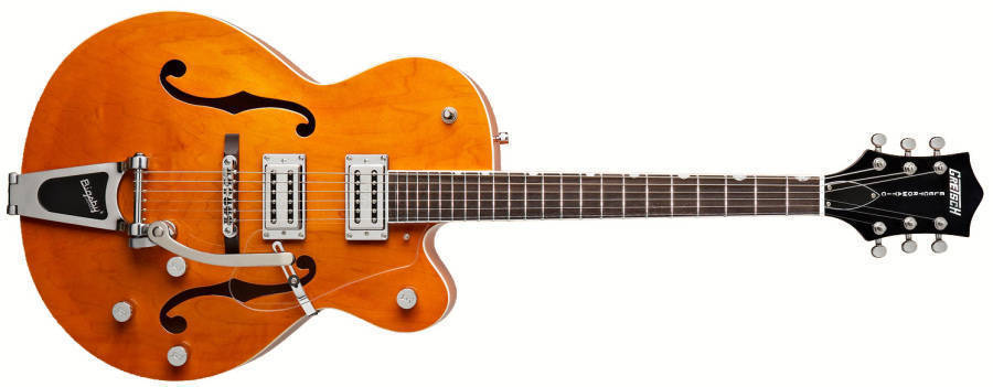 gretsch guitars g5120 electromatic hollow body orange long mcquade musical instruments. Black Bedroom Furniture Sets. Home Design Ideas
