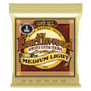 Ernie Ball - Earthwood Medium Light 80/20 Bronze Acoustic Guitar Strings 3 Pack