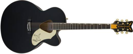G5022CBFE Rancher Falcon Jumbo Cutaway Acoustic/Electric Guitar w/Fishman Pickup System - Black