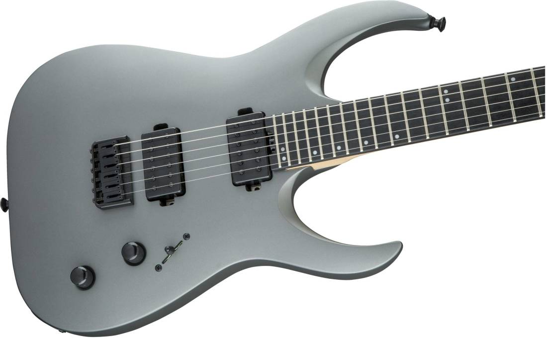 jackson guitars pro series signature misha mansoor juggernaut ht6 ebony fingerboard satin gun. Black Bedroom Furniture Sets. Home Design Ideas