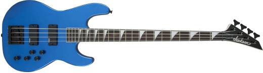 JS Series Concert Bass JS3, Rosewood Fingerboard, Metallic Blue