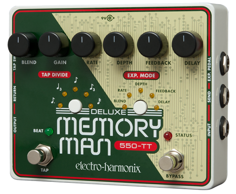 Deluxe Memory Man 550-TT Analog Delay with Tap Tempo