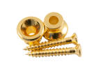 Kluson - Replacement Gibson Strap Buttons (2) - Gold
