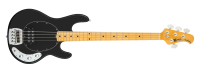 Ernie Ball Music Man - Classic StingRay 4-String Electric Bass Guitar - Black