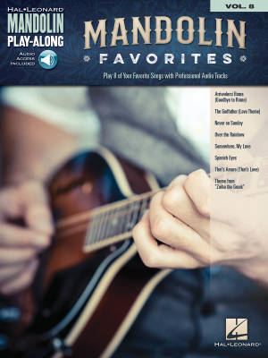 Mandolin Favorites: Mandolin Play-Along Volume 8 - Book/Audio Online