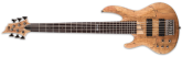 ESP Guitars - LTD 6-String Left Hand Bass Guitar - Natural Satin
