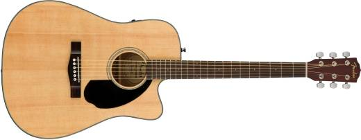 CD-60SCE Dreadnought Acoustic Electric Guitar - Natural