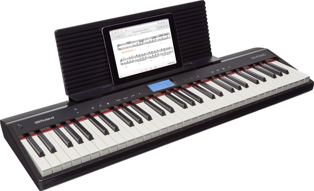 roland go piano 61 key portable digital piano w speakers long mcquade musical instruments. Black Bedroom Furniture Sets. Home Design Ideas