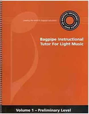 Bagpipe Solutions Book 1 - Cairns - Book/CD