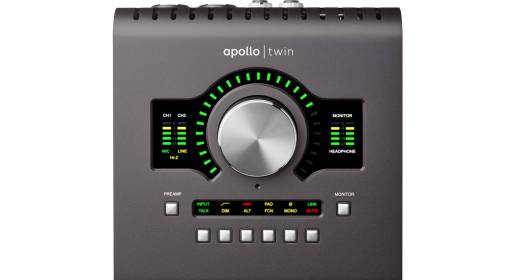 Apollo Twin MkII Audio Interface w/UAD-2 QUAD Core Processing