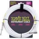 Ernie Ball - 20 Straight/Angle Instrument Cable - White