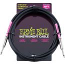Ernie Ball - 10 Straight/Straight Instrument Cable - Black