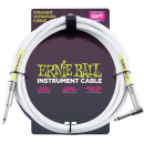 Ernie Ball - 10 Straight/Angle Instrument Cable - White