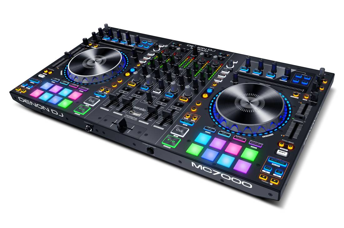 Dj experts edmonton all event dj services edmonton dj edmonton - Mc7000 4 Channel Dj Controller With Duo Usb Interfaces