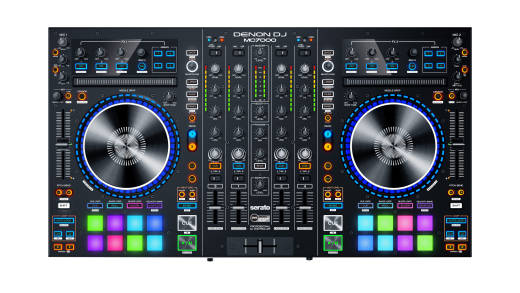 MC7000 4-Channel DJ Controller with Duo USB Interfaces