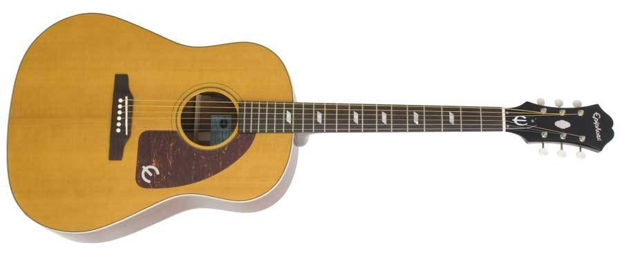 epiphone 1964 texan acoustic electric guitar long mcquade musical instruments. Black Bedroom Furniture Sets. Home Design Ideas