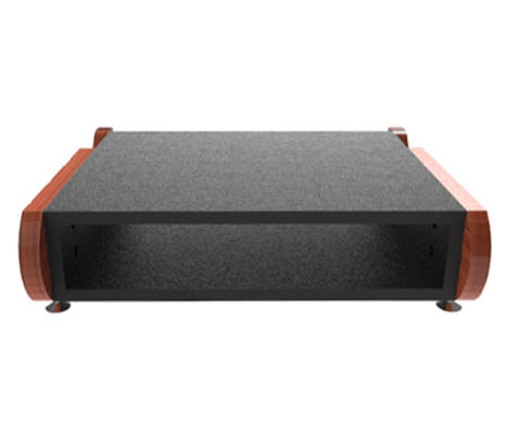Miza Rack 2 Desktop Rack - Black Cherry