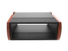 Zaor - Miza Rack 4 Desktop Rack - Black Cherry