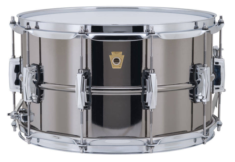 ludwig drums 8x14 39 39 supraphonic black beauty snare drum long mcquade musical instruments. Black Bedroom Furniture Sets. Home Design Ideas