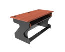Zaor - Miza Z Studio Desk - Black Cherry