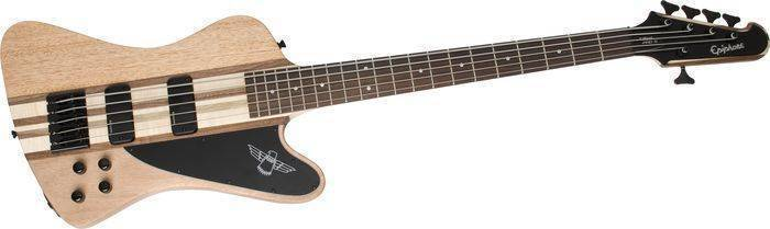 epiphone thunderbird pro v 5 string bass natural long mcquade musical instruments. Black Bedroom Furniture Sets. Home Design Ideas