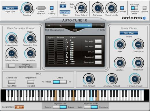 Auto-tune Vocal Studio 8 Native - Download