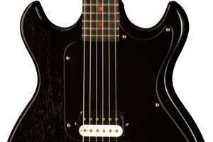 gibson joan jett blackheart melody maker long mcquade musical instruments. Black Bedroom Furniture Sets. Home Design Ideas
