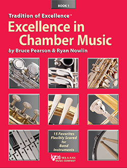 Tradition of Excellence: Excellence In Chamber Music Book 1 - Nowlin/Pearson - Electric Bass