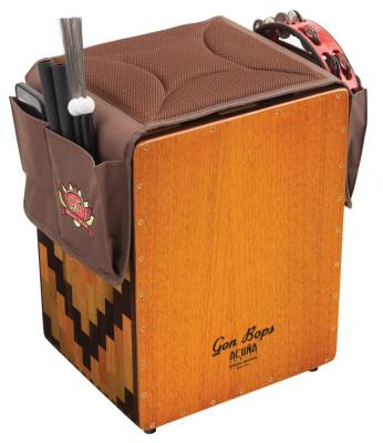 Cajon Seat Pad with Storage Pockets