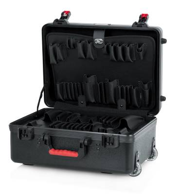 TSA Series ATA Molded Utility Case w/Tool Trays