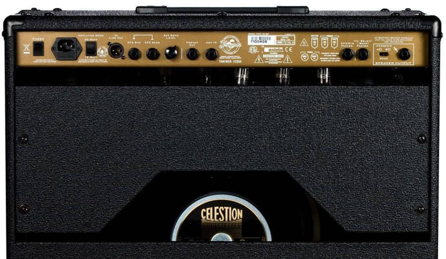 Custom Special 50 Watt 1x12 Guitar All Tube Combo Amp