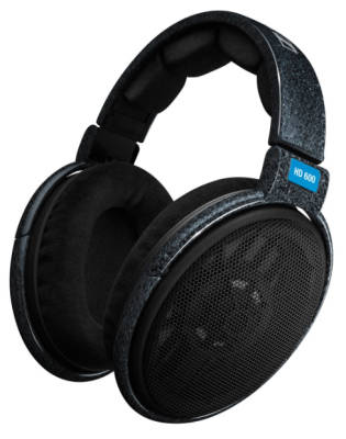 sennheiser hd 600 dynamic hi fi pro stereo headphones long mcquade musical instruments. Black Bedroom Furniture Sets. Home Design Ideas