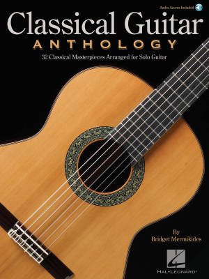 Classical Guitar Anthology - Mermikides - Guitar TAB - Book/Audio Online