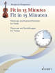 Schott - Fit In 15 Minutes: Warm-Ups and Essential Exercises for Violin - Bergmann - Violin - Book