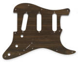 WD Music - Stratocaster Pickguard - Simulated Rosewood