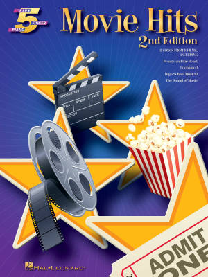 Movie Hits (2nd Edition): Five Finger Piano Songbook