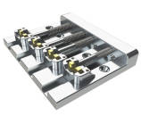 Hipshot - KickAss Bass Bridge 4-String - Chrome