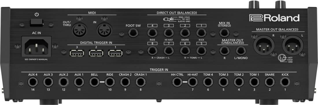 roland td 50dp v drum digital upgrade pack long mcquade musical instruments. Black Bedroom Furniture Sets. Home Design Ideas