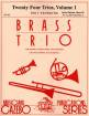 Musicians Publications - Twenty Four Trios, Volume 1 (Trios 1-6 for Brass Trio) - Reicha/Holcombe Jr. - Brass Trio