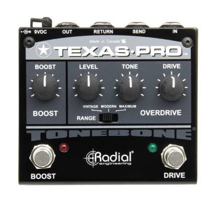 Tonebone Texas-Pro Overdrive and Boost Pedal